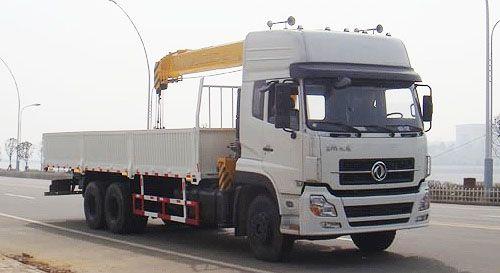 东风天龙后双桥12-14吨随车吊
