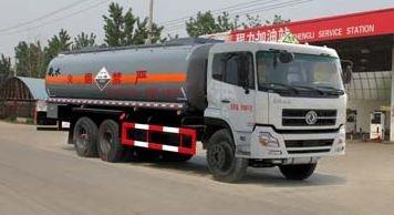 东风后双桥腐蚀性物品罐式运输车