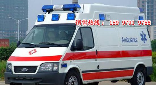 江铃福特新全顺救护车